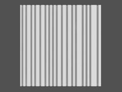 Pannello di codici a barre 3D