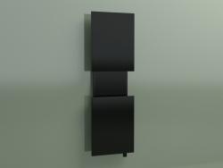 Radiatore M'ama (1700х550, nero - RAL 9005)