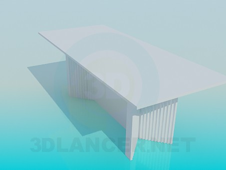 modelo 3D Una mesa para reuniones - escuchar