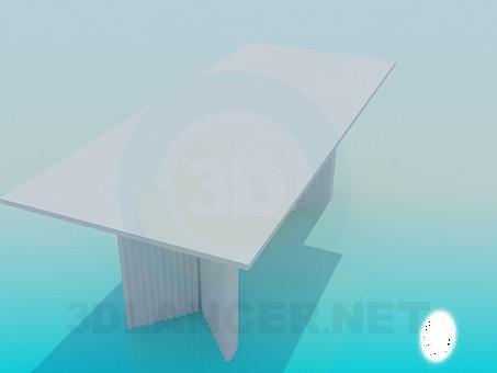 3d модель Стіл для нарад – превью