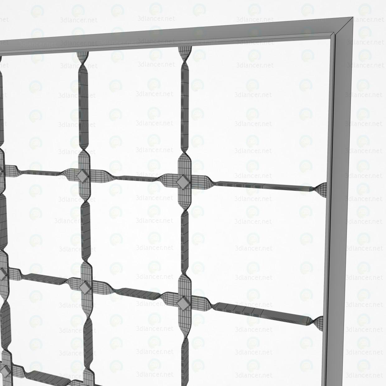 3d Решетка модель купить - ракурс