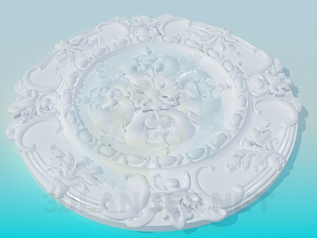 3d model Ceiling High Poly - preview
