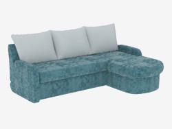 Кутова диван-ліжко для трьох осіб
