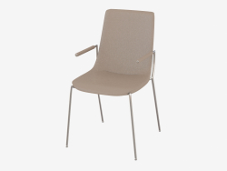 Chair with armrests DS-717-62