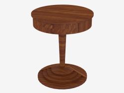 revistero de madera redondo con alto tallo (Art. JSL 3410)