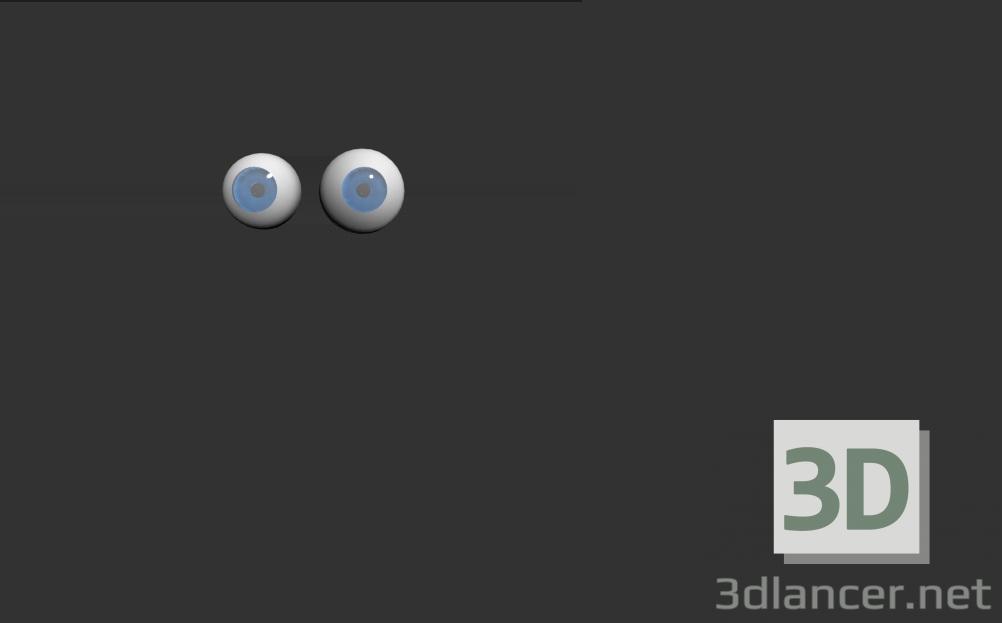 3d eyes model buy - render
