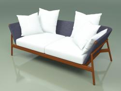 Sofa 002 (Metal Rust, Batyline Blue)