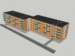 Общежитие панельное