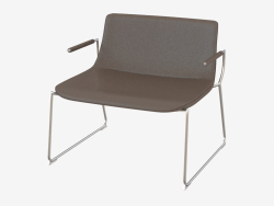 Chair with armrests DS-717-152