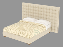 Double bed with high back Sanya