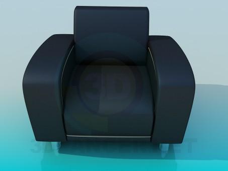 3d model Armchair - preview