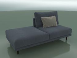 Double sofa Alfinosa with half back (2000 x 1000 x 730, 200AL-100-PL / W)