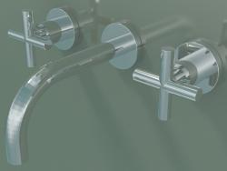 Miscelatore lavabo a parete senza scarico (36707892-000010)