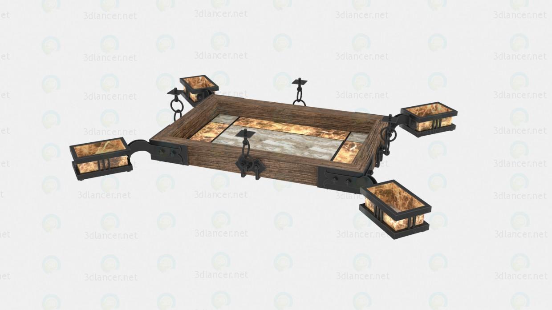 3d model luster. Black Bedroom Furniture Sets. Home Design Ideas