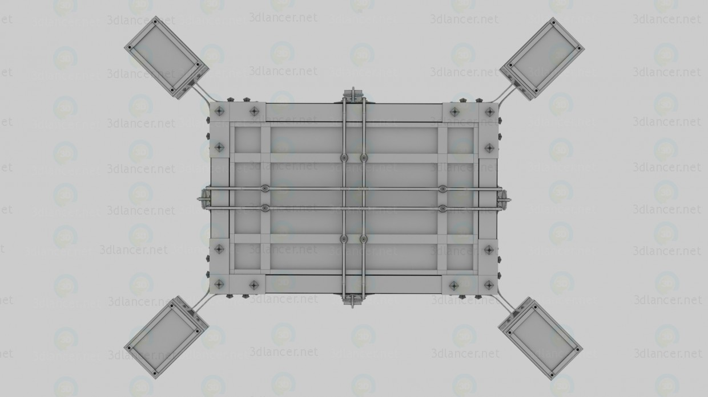 3d Люстра модель купити - зображення