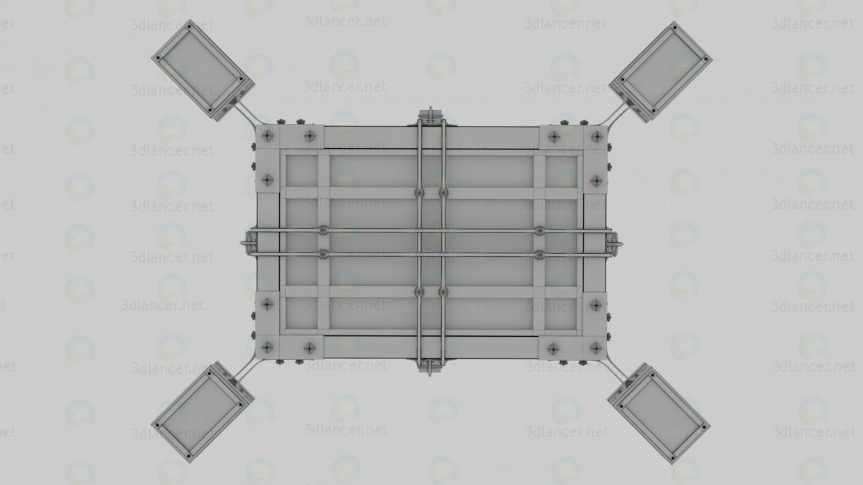 Brillo 3D modelo Compro - render