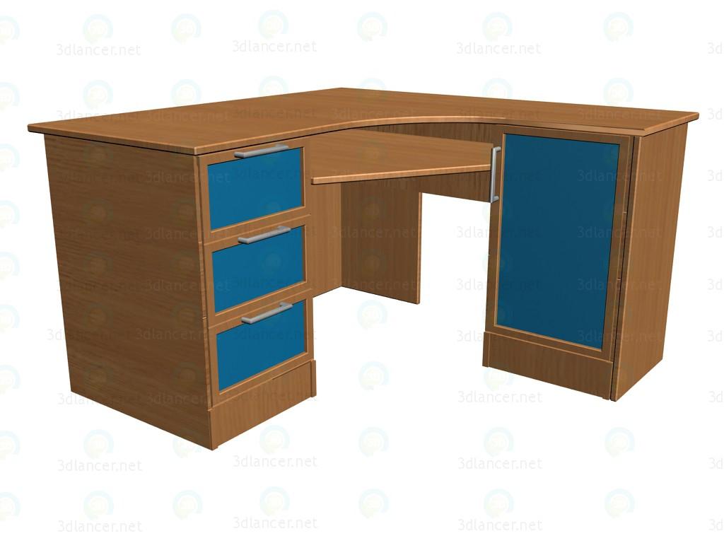 3d model Corner desk K715 - preview