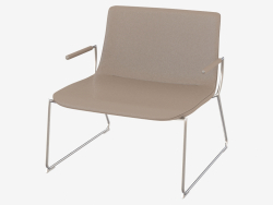 Chair with armrests DS-717-162