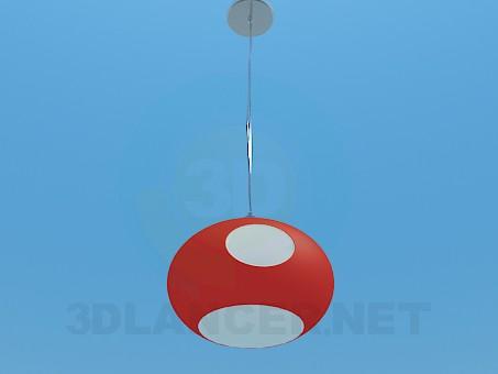 modelo 3D Luminaria ovalada - escuchar
