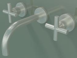 Miscelatore lavabo a parete senza scarico (36707892-060010)