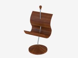 portariviste in legno sulla gamba (art. 3605 JSL)