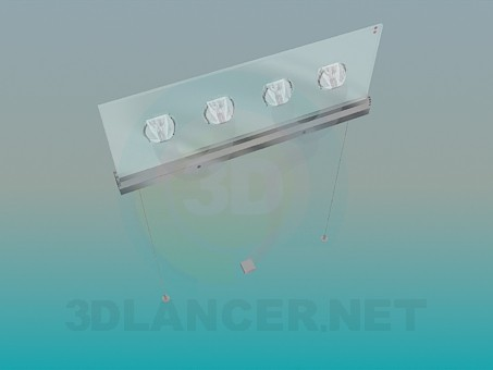 3d model Hanging lamp - preview