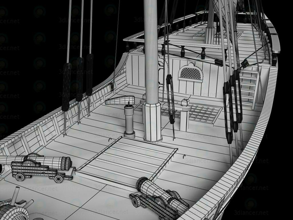 3d Ship La_Nina model buy - render