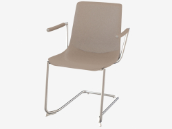 Chair with armrests DS-718-02