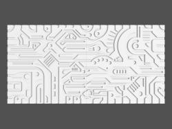 Pannello 3D Ex-machina