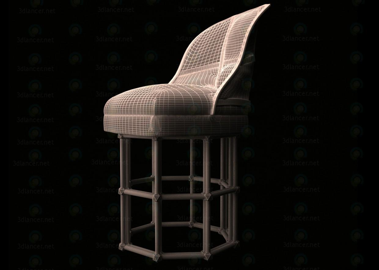 Silla  3D modelo Compro - render