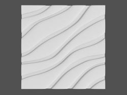 Pannello di velluto 3D