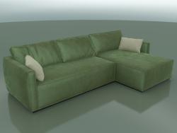 Corner sofa Esse (3060 x 1720 x 660, 306ES-172-CL)