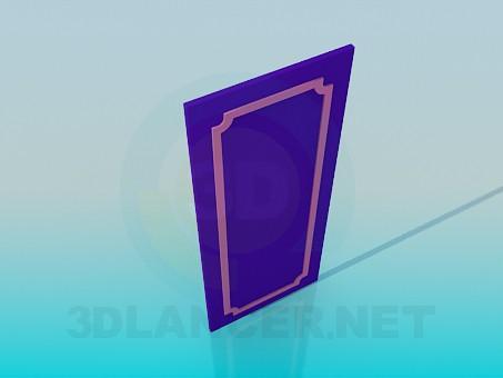 3d модель Дверна панель – превью