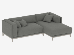 Modular sofa CASE (art 923-910)