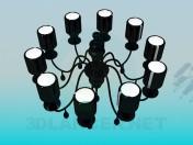 Dark chandelier