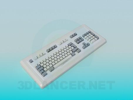 3d модель Клавиатура – превью