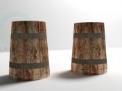 Деревянная пивная кружка