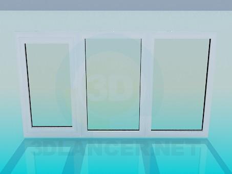 3d model Ventana - vista previa