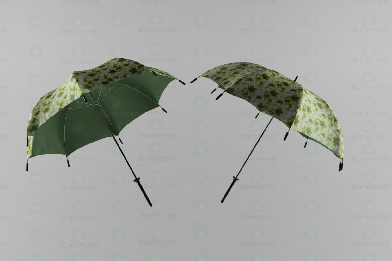 descarga gratuita de 3D modelado modelo Paraguas