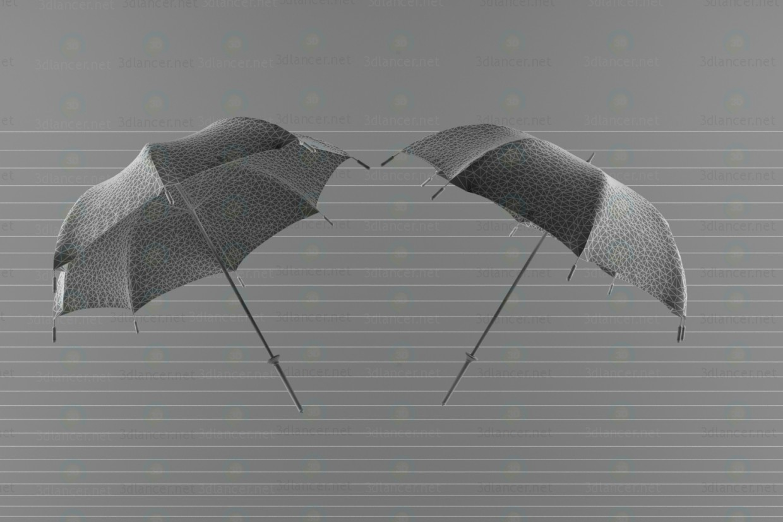 3d модель Парасолька – превью