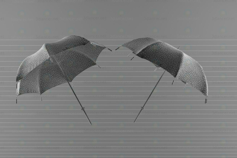 modelo 3D Paraguas - escuchar