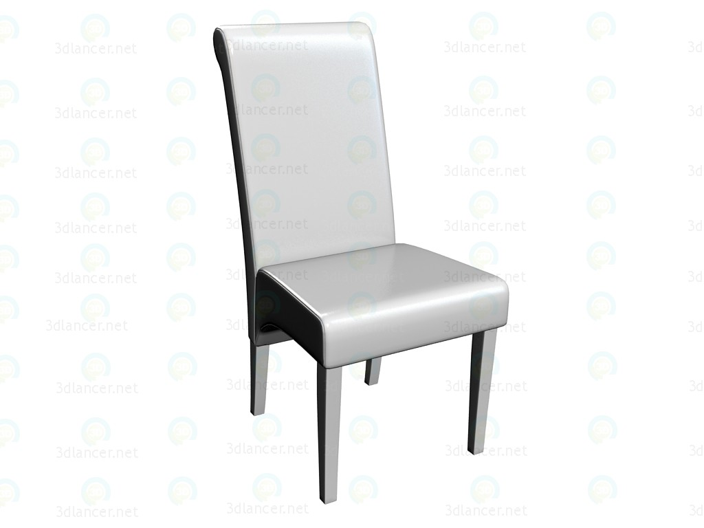 "3d model Chair ""Isis White Angel"" - preview"
