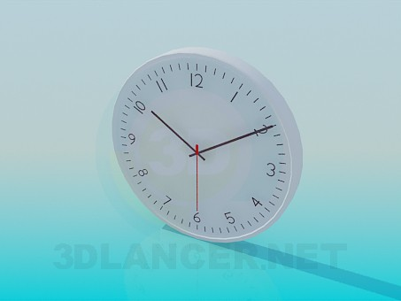3d model Reloj de pared - vista previa