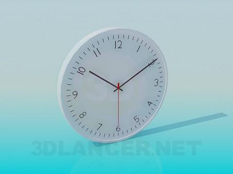 3d модель Часы настенные – превью