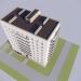 3d Nine-story Khrushchev series 86-011 model buy - render