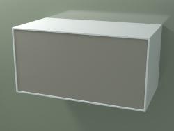 Cajón (8AUDCB03, Glacier White C01, HPL P04, L 96, P 50, H 48 cm)