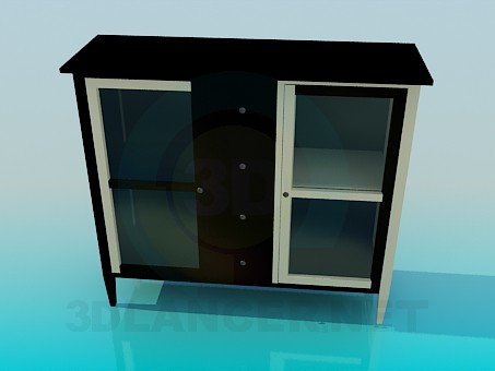 3d model Sideboard, the lower part - preview