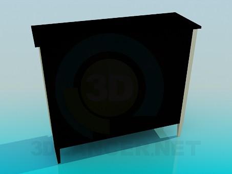 modelo 3D Aparador, la parte inferior - escuchar