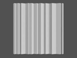 Zebrano 3D Panel