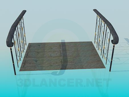 3d model Bridge - preview